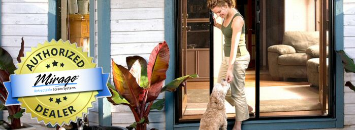 Mirage Retractable Screen Door Systems